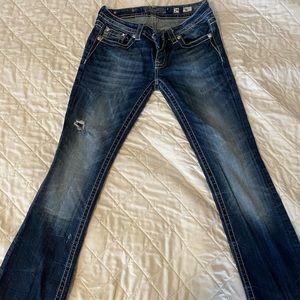 Miss Me Boot Cut Jean! Size 29 inseam 33